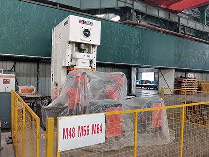Bolt Head Hot Forging Machine